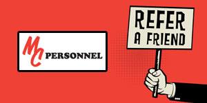 MC Personnel Refer a Friend