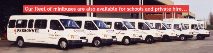 MC Personnel Minibuses
